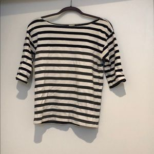 J crew striped knit